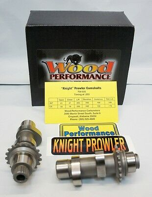 Wood performance knight prowler TW-555 Cams Harley Twin Cam '06-15 FLH/FLT FXD S