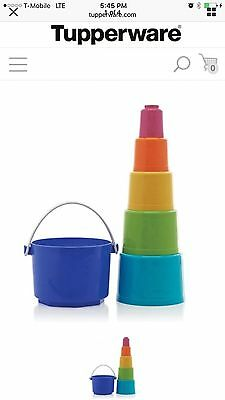 TUPPERWARE Tote-Em Pails Toy
