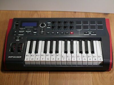 Impulse25 Novation Midi Keyboard 25 Key With Automap Software Include