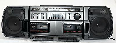 Vintage GE Boombox General Electric AM FM STEREO RADIO CASSETTE PLAYER 3-5677A