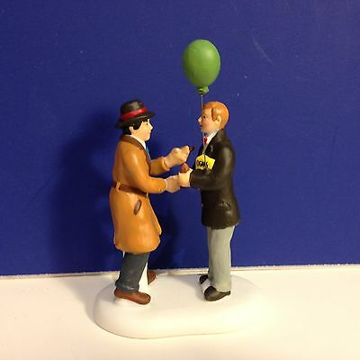 Dept 56 CIC Village I'M A DADDY HAVE A CIGAR w/box NEW! Christmas in the City