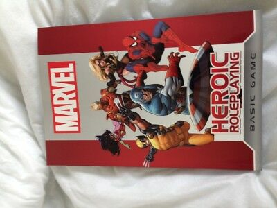 Marvel Heroic Roleplaying Game - Core Ruleboook + official bonus character prin