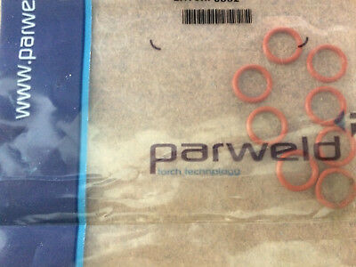 2x Parweld Back Cap Replacement O-rings WP TIG Torches 98W18