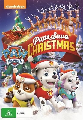 Paw Patrol: Pups Save Christmas NEW DVD (Region 4 Australia)