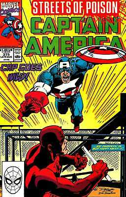 Captain America #375 'Streets of Poison' VF+!