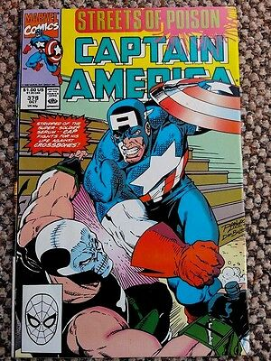 Captain America #378 'Streets of Poison' VG+!