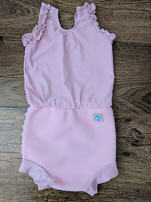 Splash About Happy Nappy Costume Pink Frilly Bum (XL)