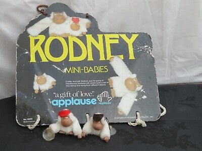 2 x Rodney the Gorilla Soft window Toy.Vintage 1979 Applause. New Old Shop stock