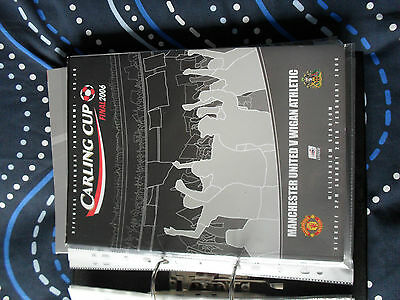 carling cup 2006 final programme