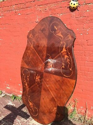 Antique Victorian Burr Walnut Table? ,