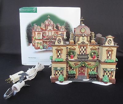 """Department 56 Dickens' Village """"The Slone Hotel"""" No. 58494"""