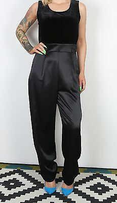 Jumpsuit UK 12 Medium All in one 1990's Vintage  90's (63F)