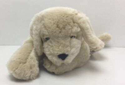 "11"" Cottonelle Advertising Yellow Lab Labrador Retiever Plush Laying Down"
