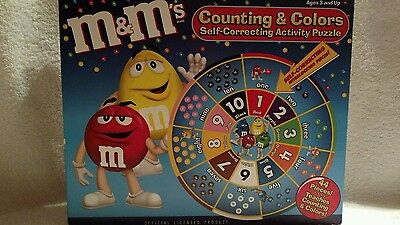 M&M's Counting &Colors Self Correcting Activity Puzzle