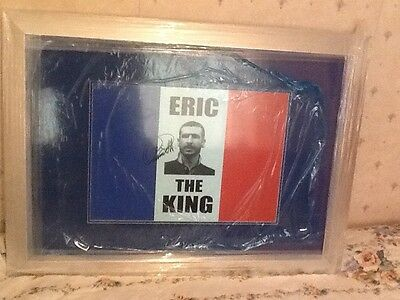 Eric Cantona Signed Presentation- view in person