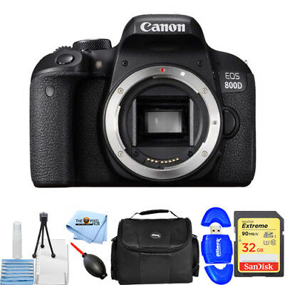 Canon EOS 800D / T7i 24.2MP Digital SLR Camera (Body)!! STARTER BUNDLE NEW!!