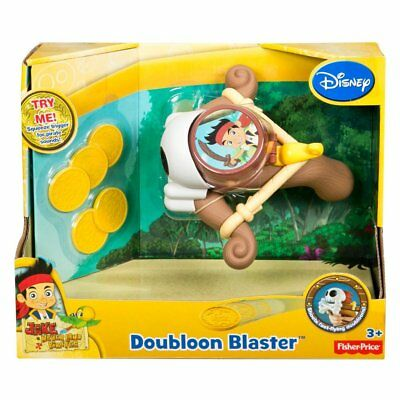 Fisher-Price Disney's Jake and The Never Land Pirates: Doubloon Blaster NEW