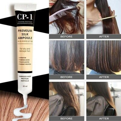 Esthetic house CP-1 Protein Silk ampoule 20ml for Damaged Hair Do not wash off