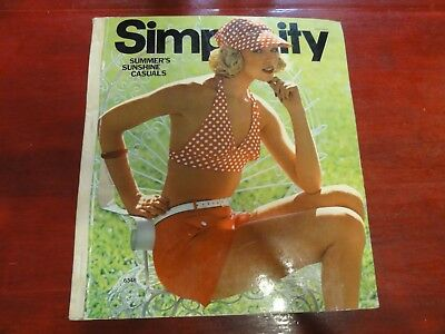 Simplicity Pattern CATALOG - July 1974 Patterns Book