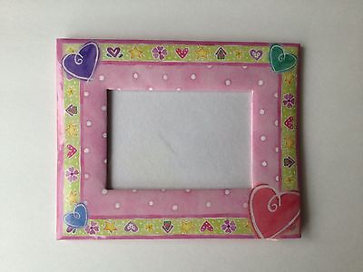 Martin Designs Hearts & Stars &  Flowers Pink Frame 2 available NEW