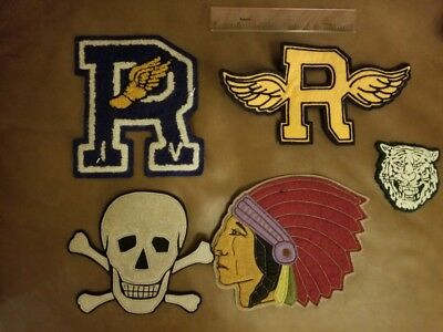 RRL Rugby badges brand new