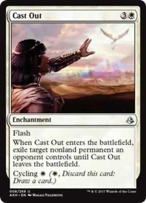 MTG 1x Cast Out - Amonkhet FREE SHIPPING!