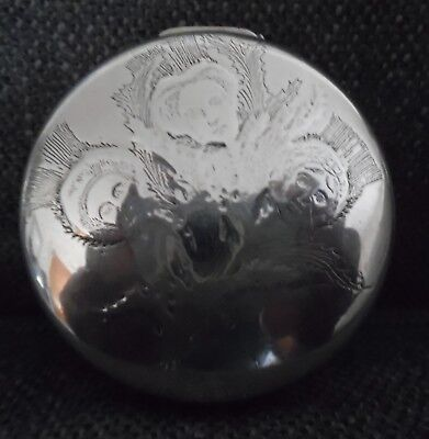 Tiffany & Company Antique Sterling Silver Pill / Trinket Box