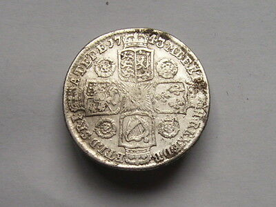George 11 Shilling Dated 1743 Roses