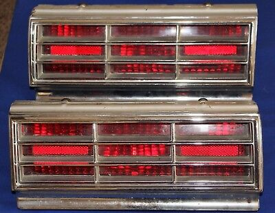 1966 Oldsmobile 88 Starfire Dynamic Original Tail Lights+GUARANTEED+SHIPPED FREE