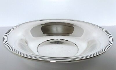 """Frank M. Whiting LARGE STERLING SILVER 10"""" CENTERPIECE BOWL #648 - 248g No Mono"""