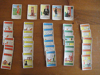 VINTAGE LITTLE ORPHAN ANNIE RUMMY CARDS COMPLETE SET OF 35 c1935