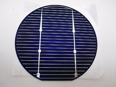 "NEW - Lot of 140+ Sharp Electronics M.Setek 4"" Solar Panel Raw discs"