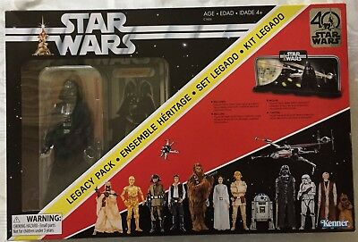 Star Wars 40th Anniversary Legacy Pack with Darth Vader Limited Edition Figure