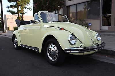 1968 Volkswagen Beetle - Classic  1968 vw beetle convertible great original color really nice condition