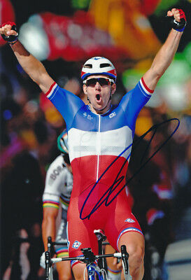 Arnaud Demare - Autographed - Signed 8X12 inches FDJ CYCLING Photo