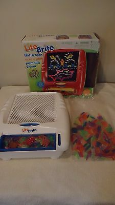 light bright BRITE FLAT SCREEN WITH EXTRA PEGS