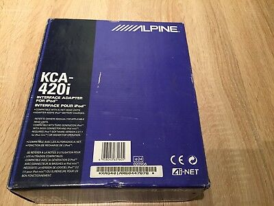 Alpine KCA-420i iPod-Interface Adapter