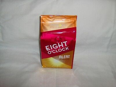 Eight O'Clock Ground Coffee 10 oz Infusions Alert Hi-Caffeine with Guarana