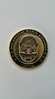 LAX Police Challenge Coin