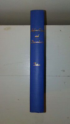 ANDREW COHOE AND DESCENDANTS Book Family Genealogy Rare