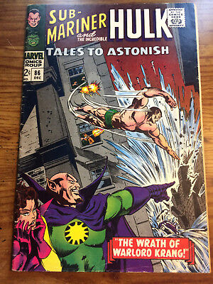 Tales to astonish # 86 featuring Sub Mariner and the Hulk Nice !!!