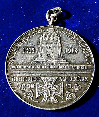 Grand Cross of the Iron Cross 100th Anniversary Silver Medal 1913