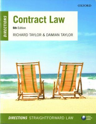 Contract Law Directions by Richard Taylor, Damian Taylor (Paperback, 2017)