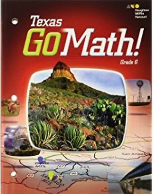 Go Math Texas Grade 6 Teacher Edition 6th