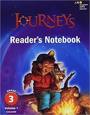 Grade 3 Journeys Readers Notebook Volume 1 Student Edition 2017 3rd