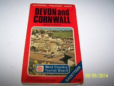 Devon and Cornwall: And Parts of Somerse... by Ordnance Survey Sheet map, folded