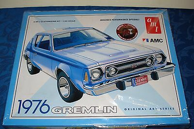 "1976 Amc Gremlin, 2 In 1, Build Stock Or Drag, Includes A 11"" X14"" Print  Fs"