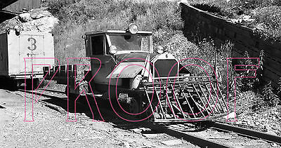 Rio Grande Southern (RGS) Galloping Goose 6 at Ophir in 1949 - 8x10 Photo