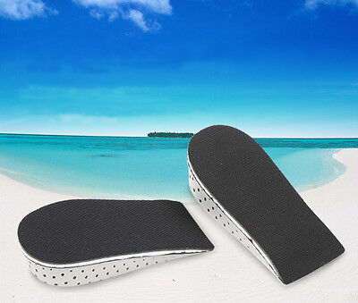 Pair Shoe Lift Height Increase Heel Lifts Insoles Taller Air Bubble Cushion