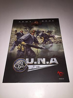 AT-43 Army Book U.N.A. Rackham Sci Fi Miniatures OOP